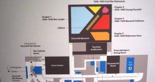 Cabinet de guerre de Churchill : Plan du site
