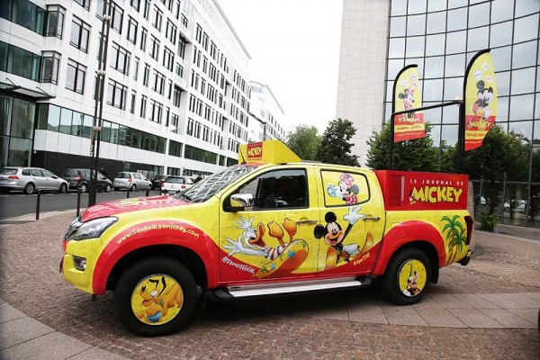 ISUZU sur les routes du Tour de France Journal de Mickey