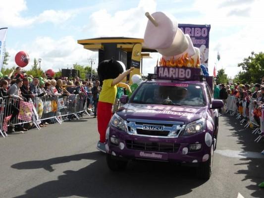 ISUZU sur les routes du Tour de France