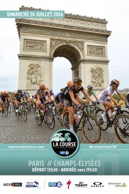 Les reines du cyclisme sur La course by Le Tour de France 2016