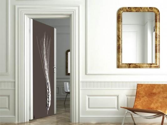 Les portes d'intérieures de la décoration