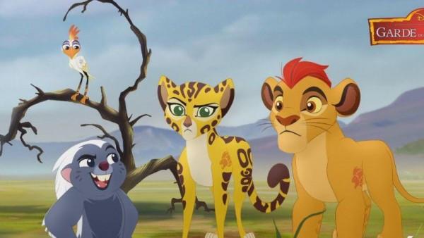 Garde du roi Lion sur France Télévision
