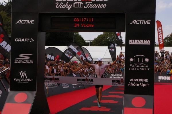 Iron Man Vichy Harry Wiltshire nouveau recordman de l'épreuve