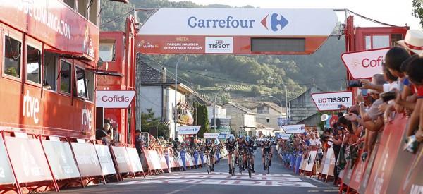 L'équipe SKY remporte la première étape du Tour d'Espagne 2016