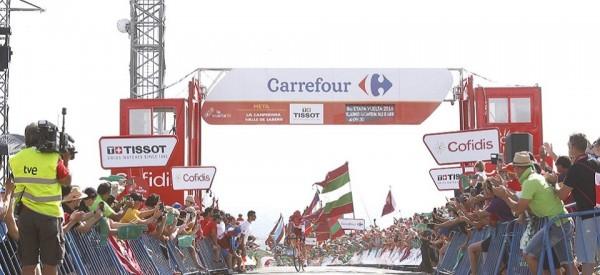 Victoire sur la 8ème étape de Sergey Lagutin