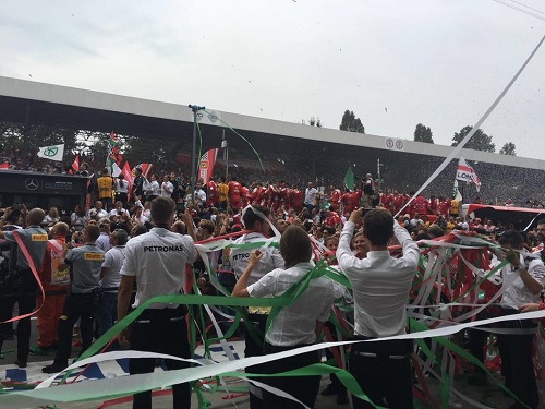 Mercedes Grand Prix Italie