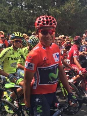 Nairo Quintana leader du Tour d'Espagne