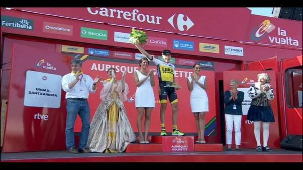 Robert Gesink vainqueur de la 14ème étape Vuelta 2016