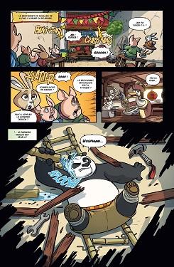 Kung Fu Panda t2 extrait