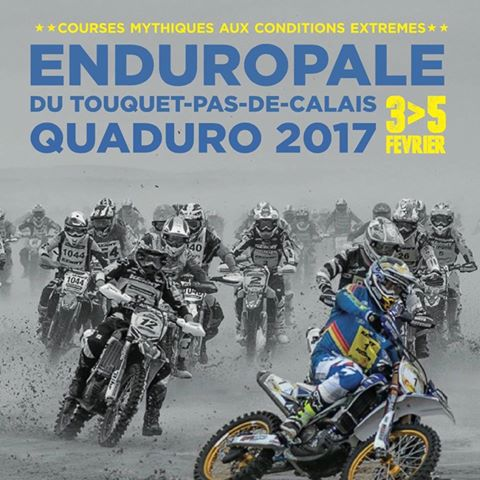 Affiche de l'enduropale 2017