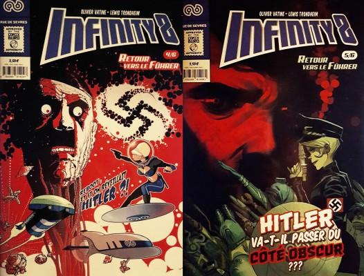 Infinity 8 - Comics Book 4/5 © Rue de Sèvres