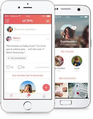 smartphone-echange-appli-wemoms