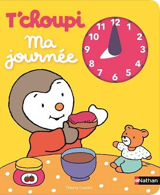 tchoupi-ma-journee-livre-horloge-nathan