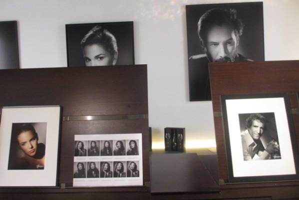 Studio Harcourt : Planche contact et portrait