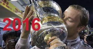 Nico Rosberg Champion Formule 1 2016