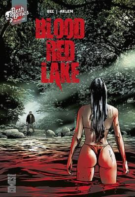 blood red lake