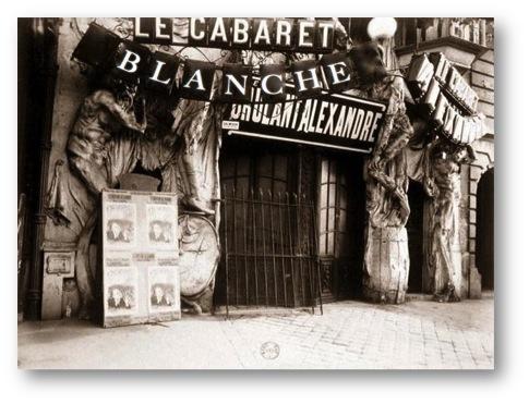 cabaret blanche affiche historique