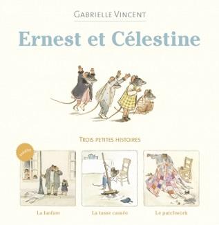 trois petites histoires la fanfare ernest et celestine casterman