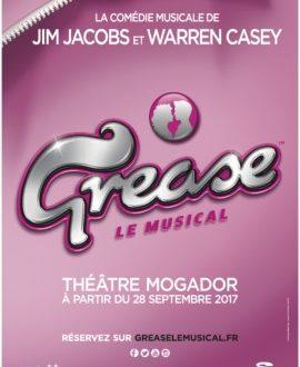 GREASE au Théâtre Mogador dès le 28 septembre 2017