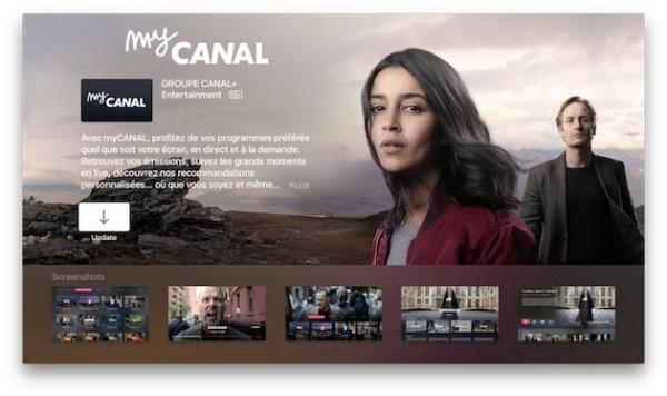 canal mycanal arrive sur l apple tv. Black Bedroom Furniture Sets. Home Design Ideas