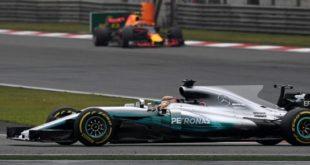 Formule 1 GP Chine Hamilton