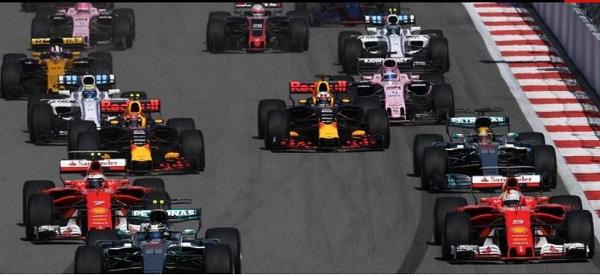 formule 1 GP Russie depart