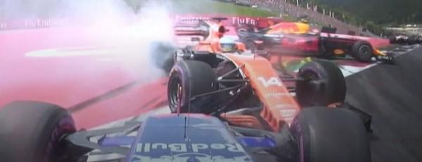 Formule 1 GP Autriche Kvyat Alonso Verstappen