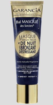 Masque de nuit Auto-Bronzant & Déstressant