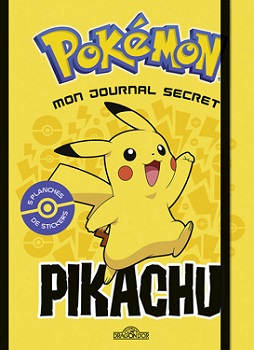 pokemon-mon-journal-secret-pikachu-livres-dragon-or