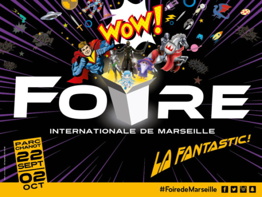 foire international de Marseille La Fantastic