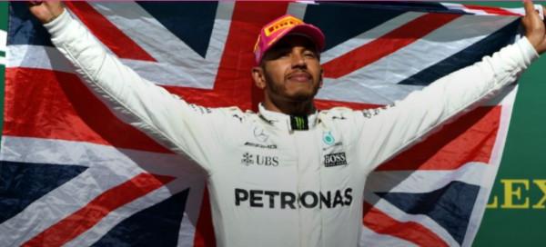 Formule 1 GP USA Hamilton