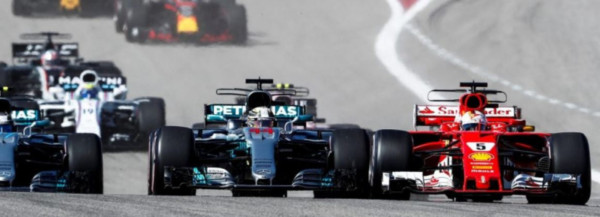Formule 1 GP USA départ