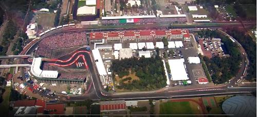 circuit de Mexico paddocks - Formule 1