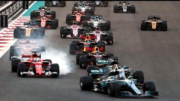 Formule 1 GP Abu DHABI 2017