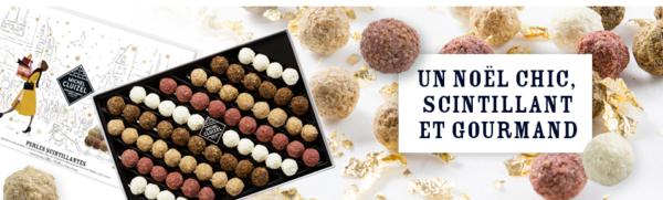Coffret Perles Scintillantes du chocolatier Michel Cluizel