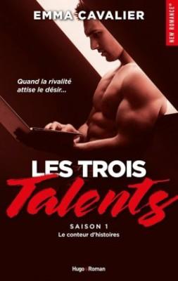 les-trois-talents-tome-1-le-conteur-d-histoires-emma-cavalier-hugo-new-romance