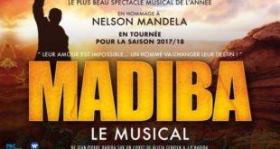 Le spectacle musical en hommage à Nelson Mandela