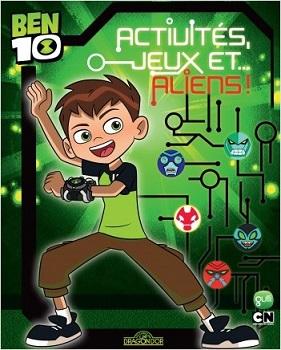 ben-10-activites-jeux-aliens-livres-dragon-or