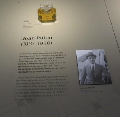Grand musée du parfum Jean Patou