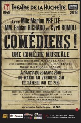 comediens-theatre-de-la-huchette-affiche