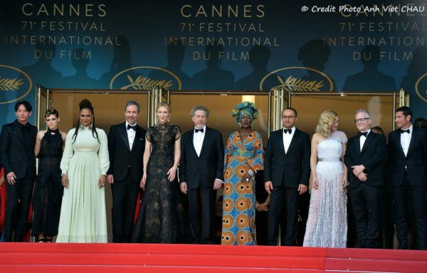 Ceremonie ouverture festival de Cannes