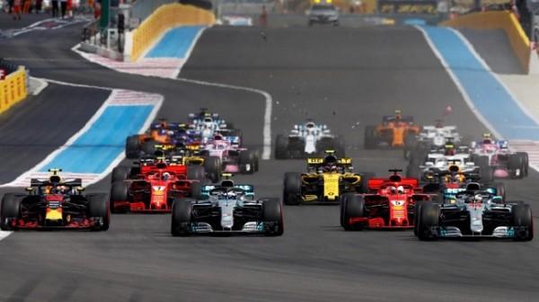 Formule 1 France depart