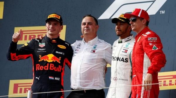 Formule 1 France podium