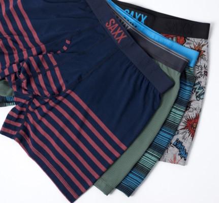 SAXX : Sous-vêtements pour hommes
