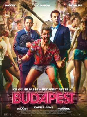 film Budapest Affiche