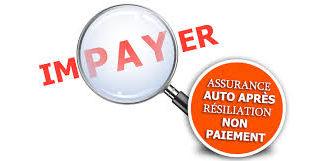 assurance résilié pour non-paiement