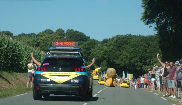 Caravane Gendarmerie Tour de France