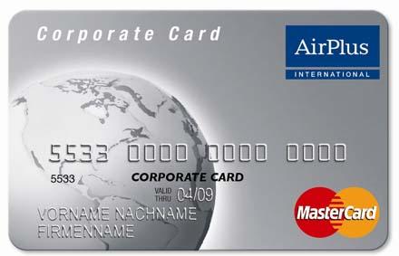 Corporate carte airPlus