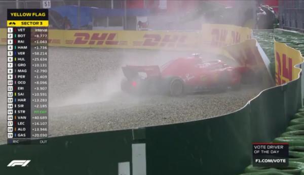 Formule 1 Allemagne Vettel