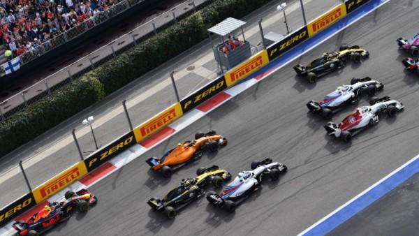Formule 1 2018 Grand Prix Russie depart
